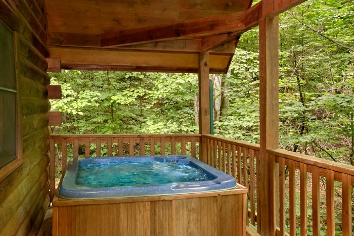 1 Bedroom Cabin with Private Hot Tub and Deck - Mtn Dreams