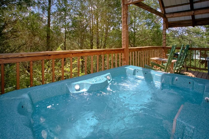 Smoky Mountain 1 Bedroom Cabin with Hot Tub - Mountain Retreat Kimbles