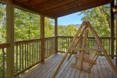 Private Cabin with Porch Swing on Deck