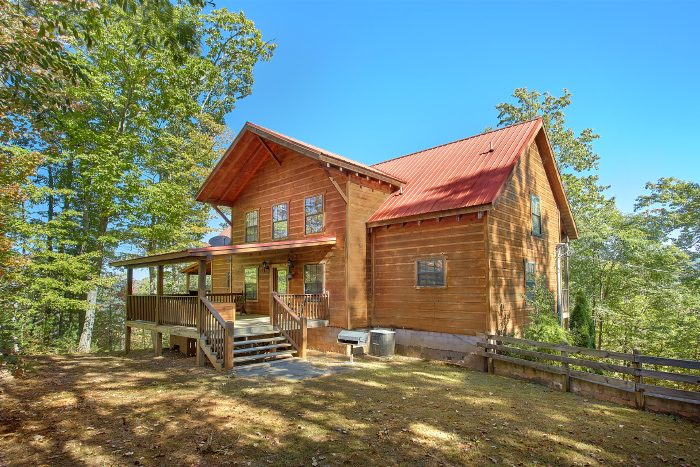 Private Cabin with Theater Room and View - Natures Majesty