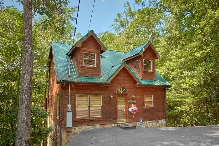 Romantic 1 Bedroom Log Cabin Rental In Gatlinburg Tn