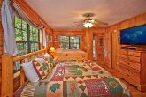 Cabin with Two Beds in One Bedroom