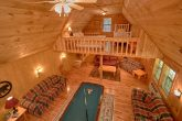 7 Bedroom Cabin with Game Room and Pool Table