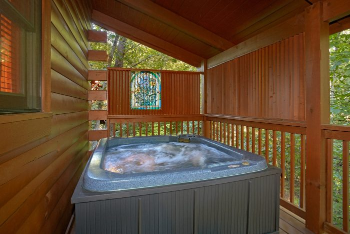 Cabin with a Private Hot Tub - Our Happy Place