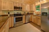 Cabin rental with Stainless steel appliances