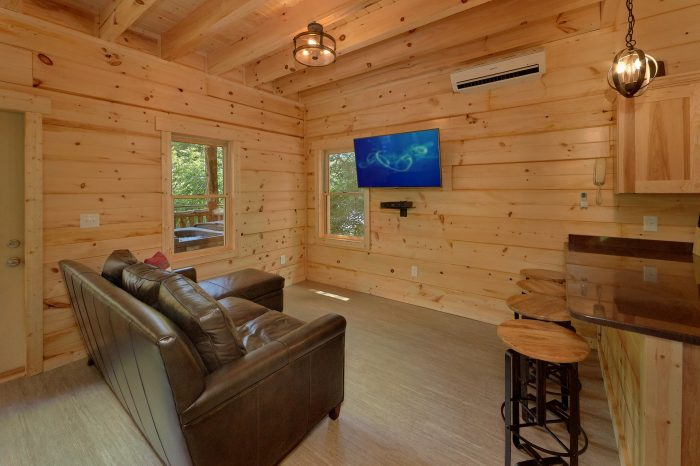 1 Bedroom cabin with spacious living room - Out On A Limb