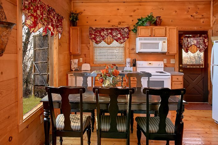 Luxury Honeymoon Cabin with Kitchen - Owl's Landing