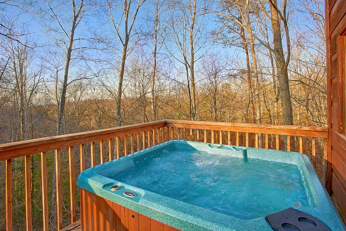 1 Bedroom Cabin with Hot Tub and Wooded Views - Owl's Landing