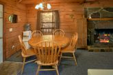 3 bedroom cabin with full kitchen and fireplace