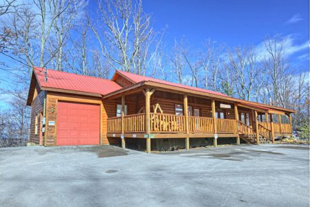 Indian Sunset: 2 Bedroom Sevierville Cabin Rental