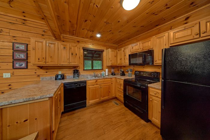 Cabin with Fully equipped Kitchen - Paws A While