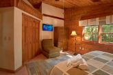 Cabin with Large, Private Master Bedroom and TV