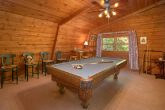4 Bedroom Cabin with Pool Table and Loft