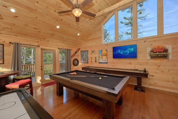 2 Bedroom Cabin Sleeps 6 Large Game Room - Pool N Around