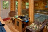 Cabin with Arcade Game and Private, Indoor Pool