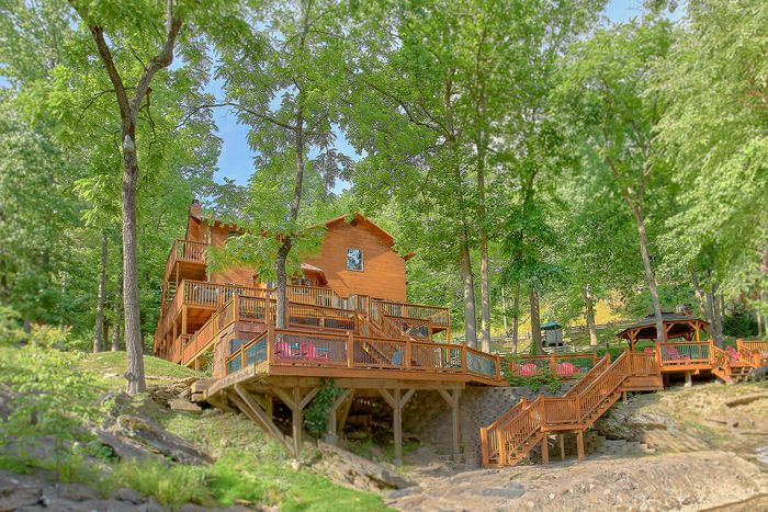 Bedroom Smoky Mountain Private Pool Cabin Cabins USA Gatlinburg - 7 bedroom cabins in gatlinburg tn