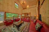 6 Bedroom Cabin Sleeps 20 with Up Dated Kitchen