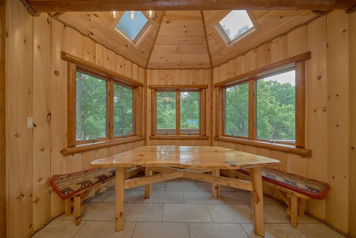6 bedroom smoky mountain private pool cabin cabins usa for Nascosto cabina gatlinburg tn