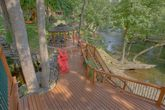 6 Bedroom Cabin Sleeps 20 with Fire Pit on River
