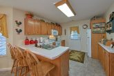 Fully Furnished kitchen in 4 Bedroom Cabin