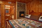 Master Suite with Mini Fridge and TV in Cabin