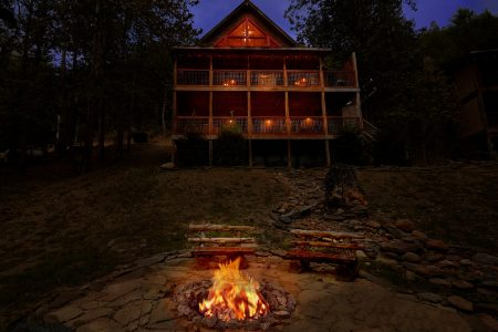 Mountain Magic: 3 Bedroom Pigeon Forge Chalet Rental