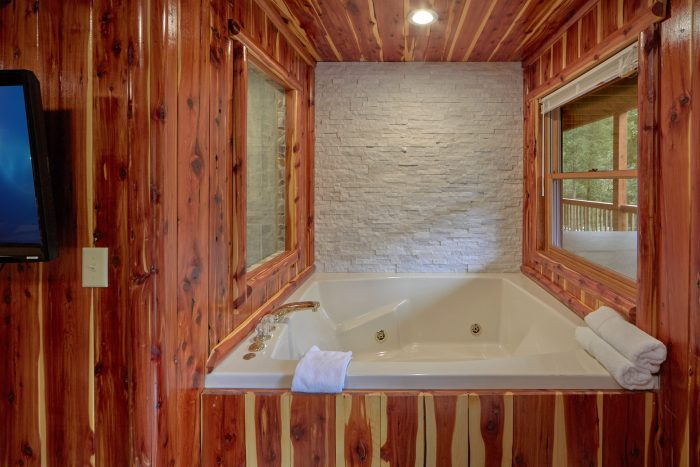 2 Bedroom Cabin Sleeps 6 with 2 Jacuzzi Tubs - River Retreat