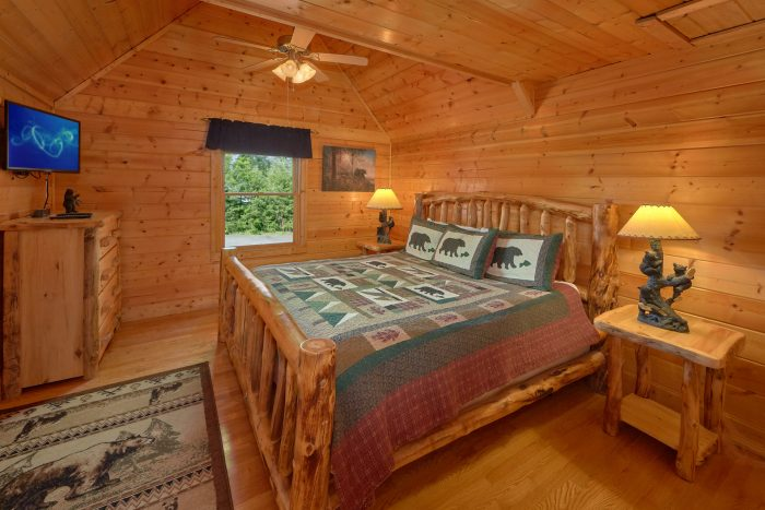 Smoky Mountain 6 Bedroom Premium Cabin - Rocky Top Lodge