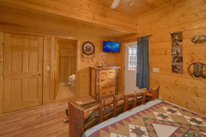 Premium Smoky Mountain Cabin with Exercise Room - Rocky Top Lodge