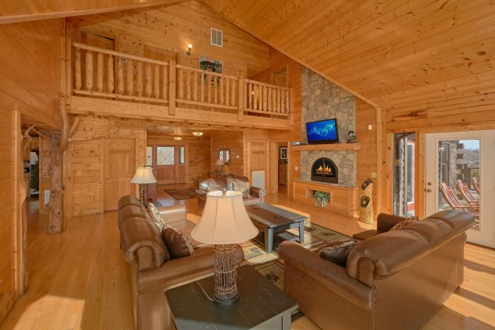 Premium 6 Bedroom Cabin Full Furnished - Rocky Top Lodge