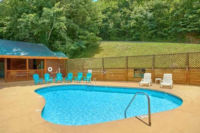 1 Bedroom Cabin with Resort Pool - Royal Romance