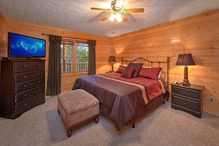 Comfortable 6 Bedroom Cabin all King Beds - Royal Vista