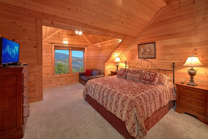 Luxury 6 Bedroom Cabin Sleeps 20 All King Beds - Royal Vista