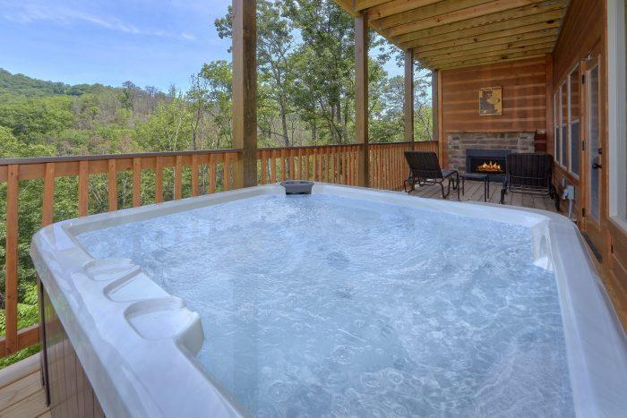 Private Hot Tub - Scenic Mountain Pool