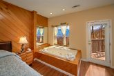 Cabin with Private Jacuzzi Tub and Mountain View