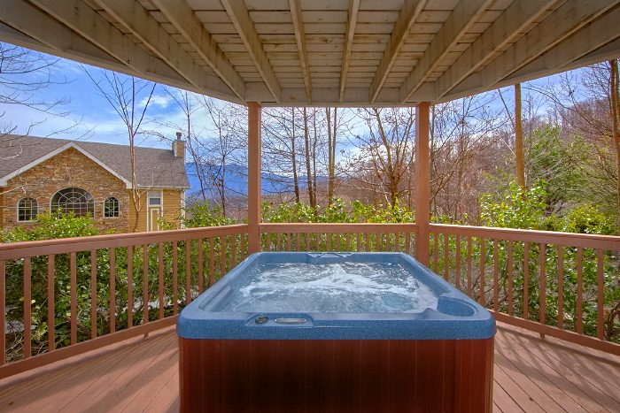 Luxury 3 Bedroom Cabin with Hot Tub and Views - Second Glance