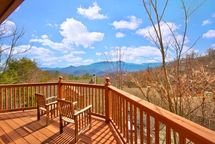 Gatlinburg Cabin with Mountain Views and Deck - Second Glance