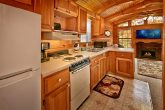 cabin with full size kitchen