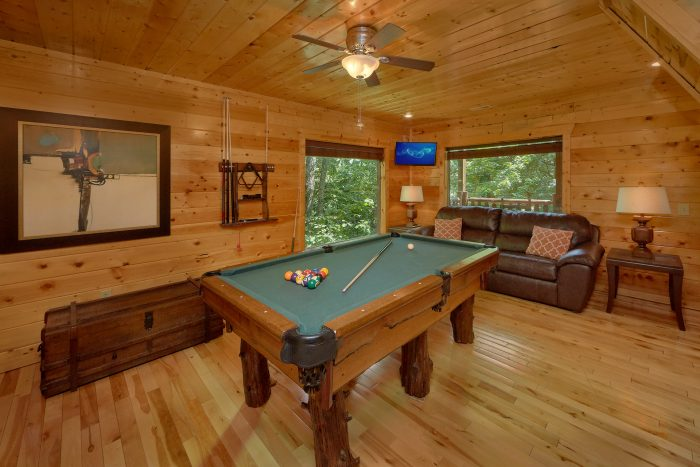 3 Bedroom Cabin with a Billiards Table - Settlers Ridge Cabin