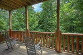 3 Bedroom Cabin with Rocking Chairs on the Deck