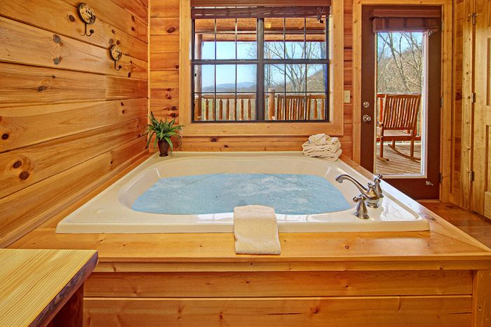 Cabin with Jacuzzi Tub - Shakonohey