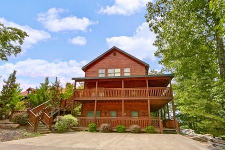 Crown Jewel: 5 Bedroom Gatlinburg Cabin Rental