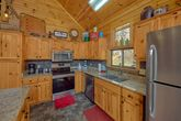 Fully Equipped Kitchen Wears Valley Cabin