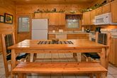 Cabin with Large Dining Table and seating for 8