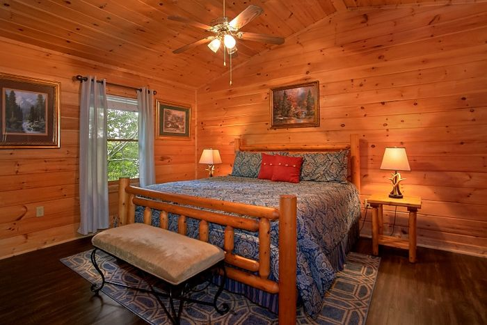 Resort Cabin with King Master Suite - Simply Irresistible