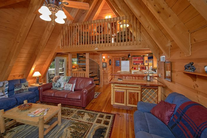 3 bedroom gatlinburg cabin near ober skiing with the bears - 3 bedroom cabins in gatlinburg tn cheap ...