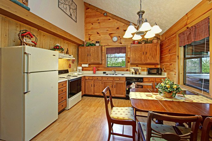 Cabin with Spacious Kitchen - Sleepy Ridge