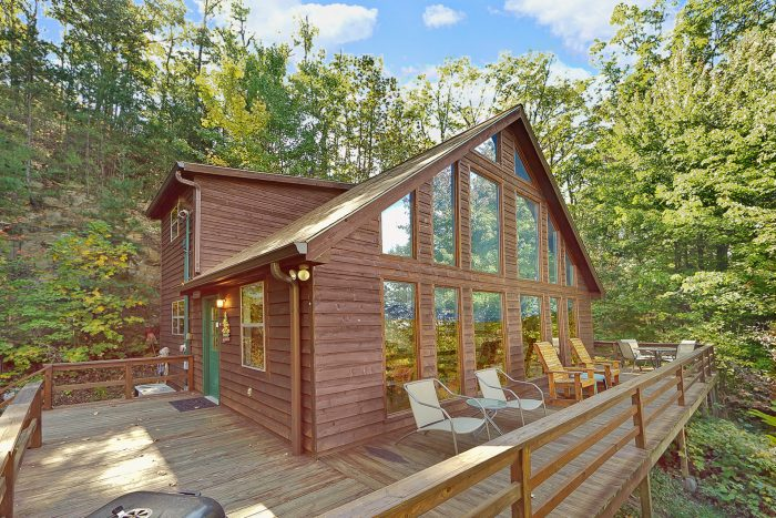 Smokeys Dream Views Cabin Rental Photo
