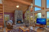 Rustic 3 bedroom cabin with Fireplace and Views