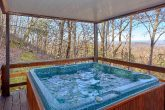 Rustic cabin with Private Hot Tub and Views